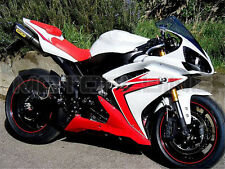 Red White Fairing Kit for Yamaha YZF R1 2007 2008 Plastic Injection Bodywork b08