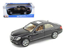 2010 Mercedes Benz E Class Black 1/18 Scale Diecast Car Model By Maisto 31172