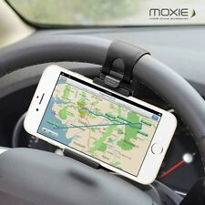 SUPPORT FIXATION VOLANT VOITURE UNIVERSEL POUR WIKO BLACKBERRY HTC APPLE LG ZTE