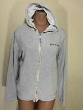 Ralph Lauren Polo Jeans Hoodie Small Gray Hooded Sweater S 4 6 Sweatshirt