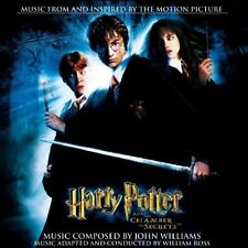 John Williams Harry Potter and the chamber of secrets (soundtrack, 2002) [CD]