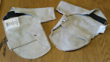 Pair of leather Welders blacksmiths Hand Pad mittens Heat Protection. gloves ppe