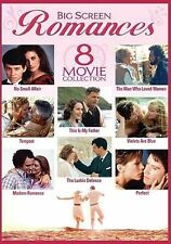 Big Screen Romances: 8-Movie Collection~New~Titles in Description