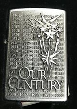 ZiPPO OUR CENTURY Millenium Limited Edition 2000
