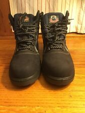 "men's HOWLER ""boots that work"" dark blue steel toecap safety boots US size 10.5"