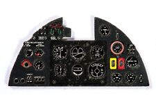 HURRICANE MK II PHOTOETCHED COLORED INSTRUMENT PANEL TO REVELL,  ETC  #7242 YAHU