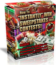 HOW TO INSTANTLY WIN SWEEPSTAKES AND CONTESTS