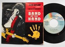 BOB DYLAN & THE HEARTBREAKERS Band of a hand NM- CANADA P/S '86 OST MEGA RARE 45