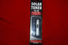 Tascam Solar Chromatic Tuner TC-1S Rechargeable Guitar Teac Free Shipping