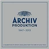 ARCHIV PRODUKTION 1947-2013 55 CD Box Set Early Music Renaissance Gregorian 2013