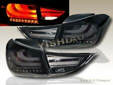 2011 2012 2013 ELANTRA LED TAIL LIGHTS SMOKE 4PCS (OUTER PCS W/ BULB)