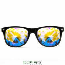 Kaleidoscope Crystal Glasses USA costume party club novelty 3D trippy rave EDM