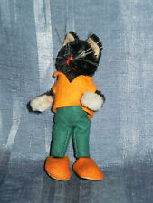 "VINTAGE SCHUCO MASCOT CAT 3.5"" COMPLETE CONDITION"