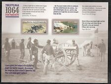 2014 #4910-4911 The Civil War:1864 pane of 12 without die Cuts Mint