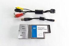 HP Expresscard EC680 Analog TV Tuner Coaxial + RCA Cable DV9000 DV4 DV7
