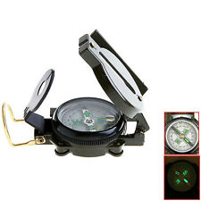 Pocket Outdoor Military Army Hiking Camping Lens Survival Lensatic Compass ZB-A
