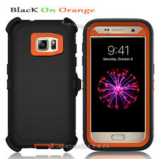 SUPER DURABLE Premium CASE For Samsung Galaxy HOLSTER Built in Screen Protector