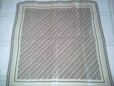 """Beautiful Vintage 100% silk scarf, Jean Baptiste Caumont, made in Italy, 18""""x18"""""""
