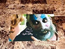 Captain Spaulding Sid Haig Signed Photo House Of 1000 Corpses + Devil's Rejects