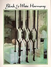 Macrame Room Divider Open Concept - BOOK ONLY # Z07 Juliano's Hang It All Book 3