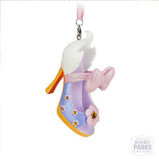 Disney Parks Authentic Daisy Duck Runway Shoe Ornament NEW Christmas holiday