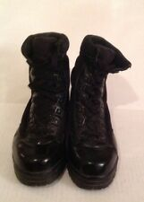 Corcoran Mach Military Boots Womens 6M Black 1944 Work Steel Toe Combat Leather
