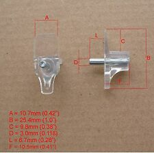 HAFELE PLASTIC SHELF SUPPORTS WITH STEEL PIN 3mm (100 PCS)