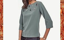 ***ANN TAYLOR  Top, M, New Arrival,  New  W/ $79.50 TAG.***