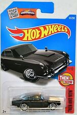 ASTON MARTIN 1963 DB5 2016 HOT WHEELS THEN AND NOW BLACK