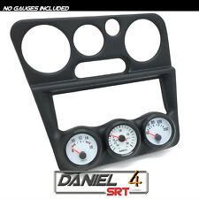 95 99 Mitsubishi Eclipse/Talon Triple Gauge Pod 52mm (OEM) Radio Trim Bezel