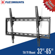 "Fleximounts T013 Slim LCD LED PLASMA Flat Tilt TV Wall Mount Bracket 32"" to 65"""
