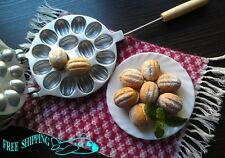 NEW baking form cookies «nut» Oreshnitsa oreshnica (8 nuts-16 halves) oreshnitca