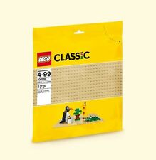 Lego 10699 TAN BASEPLATE Base Plate Castle Star Wars City Desert Sand Tatooine