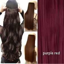 Real Thick Clip In Hair Extensions 5 Clips Full Head as Human Hair Extentions LK