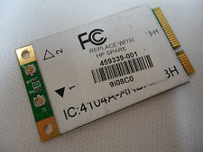 HP 459339-001 Pavilion dv6000 dv9000 g50 802.11b/g Mini PCI Wireless WI-FI Card