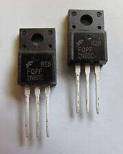 2pcs FQPF2N60C 2N60 field effect transistor mosfet n TO-220F  ( US SELLER )