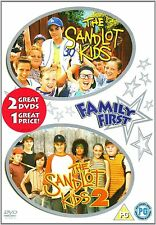 THE SANDLOT KIDS 1 & 2 2 X DVD NEW CHILDRENS BASEBALL FAMILY FILMS MOVIES