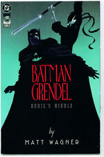 •.•  BATMAN / GRENDEL: DEVIL'S RIDDLE • One Shot • DC Comics / Comico