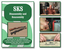 SKS RIFLE INSTRUCTIONAL DISASSEMBLY AND REASSEMBLY DVD