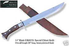 "14"" Blade Traditional Nepali Machete- Chhuri, kukri, khukuri, knives, by GK&CO."