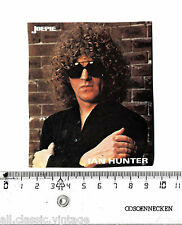 Vintage Decal/Sticker - Joepie Music Ian Hunter
