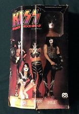 """1977 MEGO """"KISS"""" Paul Stanley 12"""" figure mint with original box (muscle body)"""