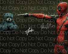Deadpool signed Ryan Reynolds Stan Lee 8X10 photo picture poster autograph RP 4