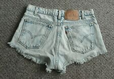 ☆LEVI|DEMIN SHORTS|DISTRESSED|ACID WASH LOOK|SIZE 30|FESTIVAL|BEACH|HOLIDAY!☆
