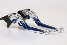 CNC Folding&Extending Brake Clutch Levers For Suzuki GSXR1000 2007-2008 Yellow