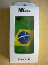 COQUE iPHONE 4/4S BRASIL MY DESIGN NEUF