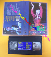 VHS MADONNA Live from italy Ciao italia 1988 SIRE 938141-3 (VM10) no mc dvd lp