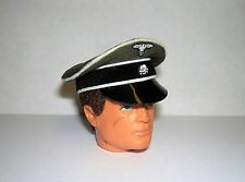 Banjoman 1:6 Scale Custom WW2 German  Crusher Cap For Vintage Action Man