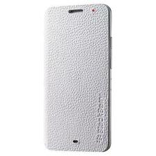 Genuine Leather Flip Funda Protectora acc-57201-002 Para Blackberry Z30-Blanco