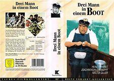 (VHS) Drei Mann in einem Boot - Walter Giller, Heinz Erhardt, Susanne Cramer